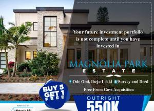 Serviced Residential Land Land for sale Ode-omi closed to LaCampaigne Tropicana Ibeju-Lekki Lagos