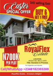 Serviced Residential Land Land for sale SUITABLE FOR COMMERCIAL AND RESIDENTIAL PURPOSES Akodo Ise Ibeju-Lekki Lagos