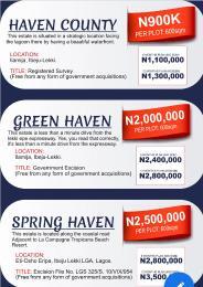 Residential Land Land for sale Okun lse Ise town Ibeju-Lekki Lagos