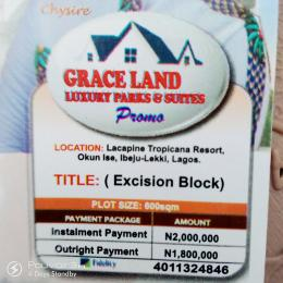 Serviced Residential Land Land for sale Okun Ise, Very Close to Dangote Refinery  LaCampaigne Tropicana Ibeju-Lekki Lagos