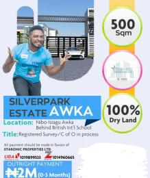 Residential Land Land for sale Nibo, Isiagu Awka,  Behind British Int'l School Awka Awka North Anambra