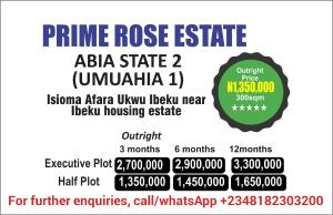 Residential Land Land for sale Isioma Afara Ukwu Ibeku, Near Ibeku Housing Estate Osisioma Abia