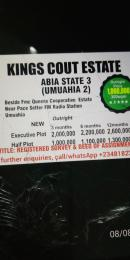 Residential Land Land for sale Beside FMC Queens Coporative Estate, Near Pace Setter FM Radio Station  Umuahia South Abia