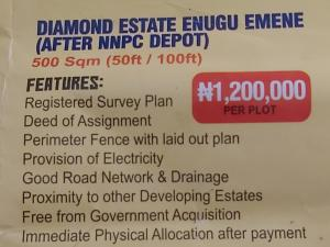 Mixed   Use Land Land for sale Diamond estate Enugu Emene(After Nnpc Deport),Enugu state Enugu Enugu