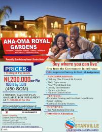 Commercial Land Land for sale ANA-OMA ROYAL GARDENS AT IDEMMILI NORTH ANAMBRA STATE  Anambra Anambra