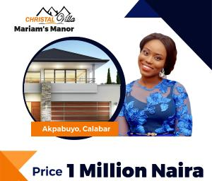 Land for sale Calabar Akpabuyo Cross River