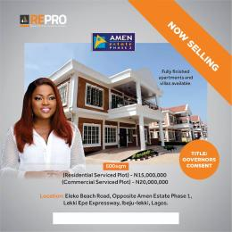 Serviced Residential Land Land for sale Eleko Ibeju-Lekki Lagos