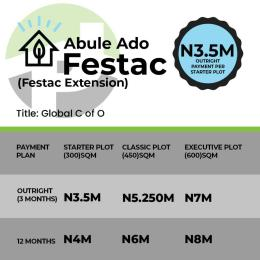 Residential Land Land for sale Abulado Festac Extension  Amuwo Odofin Lagos