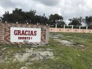 Land for rent La Campaigne Tropicana Abule Egba Lagos