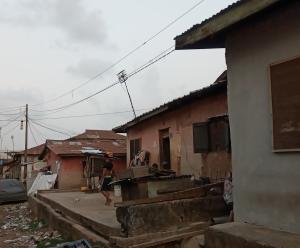 Detached Bungalow House for sale Off Bailey Abule-Ijesha Yaba Lagos
