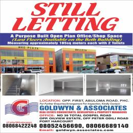 Commercial Property for rent Opposite First Bank Abuloma Road  Trans Amadi Port Harcourt Rivers