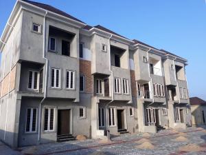 Terraced Duplex House for sale Atlantic view estate, alpha beach road, opposite chevron chevron Lekki Lagos