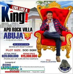 Residential Land Land for sale Behind Legislative Quarters, Apo Hills. Apo Abuja