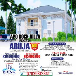 Serviced Residential Land Land for sale Behind Legislative Quarters, Apo. Apo Abuja