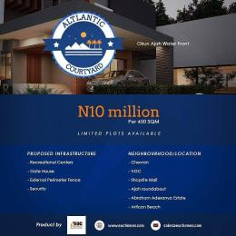Land for sale Okun Ajah Waterfront (5minutes drive from Abraham Adesanya Ajah,Lagos). Okun Ajah Ajah Lagos