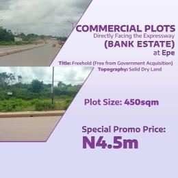 Office Space Commercial Property for sale Facing the Expressway at Epe Epe Road Epe Lagos