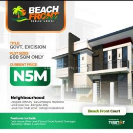Residential Land Land for sale Akodo sharing boundary with Lagos Free Trade Zone and directly facing Eko Tourist Center which is overlooking the Ibeju Lekki Ocean Akodo Ise Ibeju-Lekki Lagos
