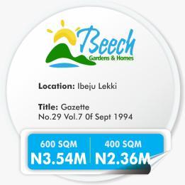 Residential Land Land for sale IBEJU Iberekodo Ibeju-Lekki Lagos