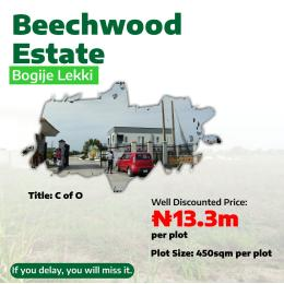 Residential Land Land for sale BOGIJE, AJAH FACING LEKKI EPE EXPRESS WAY.  Badore Ajah Lagos