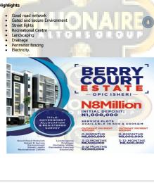 Serviced Residential Land Land for sale Opic Isheri Isheri North Ojodu Lagos