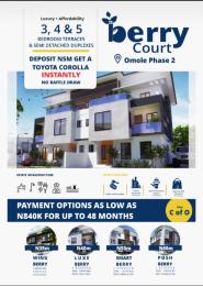 3 bedroom Terraced Duplex House for sale Omole phase 2 Ojodu Lagos