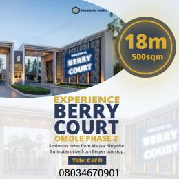 Serviced Residential Land Land for sale Omole phase 2 Ojodu Lagos