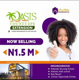 Residential Land Land for sale Oasis County Epe Road Epe Lagos