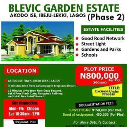 Land for sale Akodo Ise Community, Ibeju Lekki Ibeju-Lekki Lagos - 1