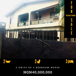 3 bedroom Blocks of Flats House for sale Off Abeokuta Expressway, Sango Ota Adalemo Ado Odo/Ota Ogun