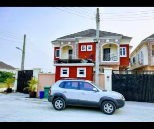 4 bedroom Terraced Duplex House for sale Colindale estate close to national stadium Surulere  Kilo-Marsha Surulere Lagos