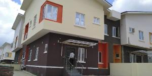 4 bedroom Semi Detached Duplex House for rent Magistrate court Life Camp Abuja
