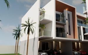 4 bedroom Terraced Duplex House for sale Water front Lekki Phase 1 Lekki Lagos