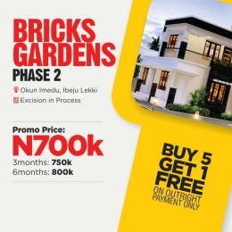 Residential Land Land for sale FOLU ISE Ogogoro Ibeju-Lekki Lagos
