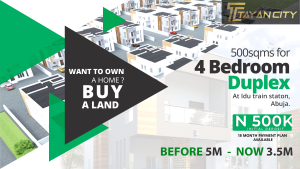 4 bedroom Serviced Residential Land Land for sale idu, Abuja. Idu Industrial(Institution and Research) Abuja