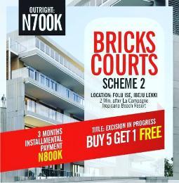 Land for sale Folu Ise  LaCampaigne Tropicana Ibeju-Lekki Lagos