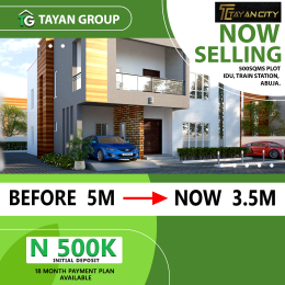 4 bedroom Serviced Residential Land Land for sale Beside idu train station abuja. Idu Industrial(Institution and Research) Abuja
