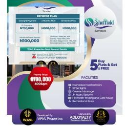 Residential Land Land for sale Simawa Ogun State Sagamu Ogun