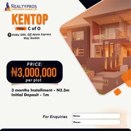 Residential Land Land for sale Elebu GRA, off Akala expressway, Ibadan Akala Express Ibadan Oyo