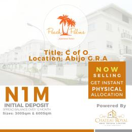 Mixed   Use Land Land for sale Abijo Monastery road Sangotedo Lagos
