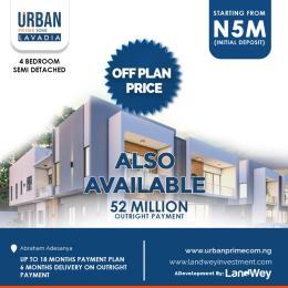 4 bedroom Semi Detached Duplex House for sale Abraham Adesanya Lekki Lagos