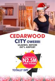 Residential Land Land for sale Ulakwo, before international airport, owerri, IMO state  Owerri Imo