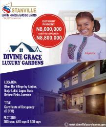 Serviced Residential Land Land for sale Ogun Ojeh village by Alatise in Ibeju-lekki, Lagos State. ( A magnificent environment) Alatise Ibeju-Lekki Lagos