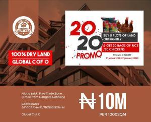 Residential Land Land for sale Along Lekki Free Trade Zone Free Trade Zone Ibeju-Lekki Lagos