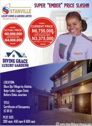 Serviced Residential Land Land for sale Okun Ojeh Village. Alatise Ibeju-Lekki Lagos