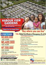 Serviced Residential Land Land for sale BESIDE DANGOTE REFINERY IBEJU LEKKI LAGOS Free Trade Zone Ibeju-Lekki Lagos