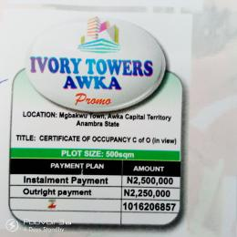 Serviced Residential Land Land for sale MBAKWU TOWN, AWKA CAPITAL TERRITORY Awka South Anambra