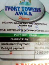 Serviced Residential Land Land for sale Mgba town Awka capital territory Anambra state Awka South Anambra