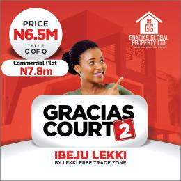 Serviced Residential Land Land for sale Before Dangote Refinery.. Free Trade Zone Ibeju-Lekki Lagos