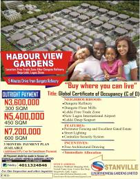 10 bedroom Residential Land Land for sale 5 Minutes Drive From Dangote Refinery Free Trade Zone Ibeju-Lekki Lagos