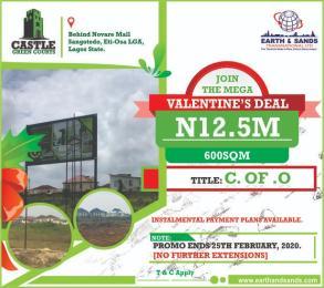 Serviced Residential Land Land for sale Behinde Novare Shopping mall Sangotedo Ajah Lagos